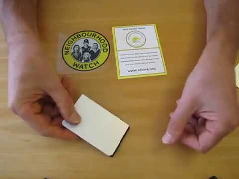Protect your credit card from skimming - diy card sleeve for free!