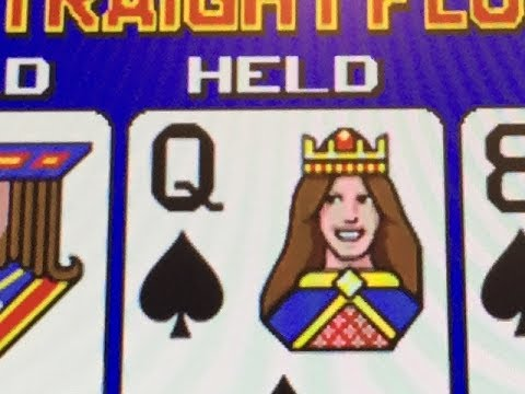 Live video poker expert strategy for 9 6 jacks or better with 4oak and straight flush from casino
