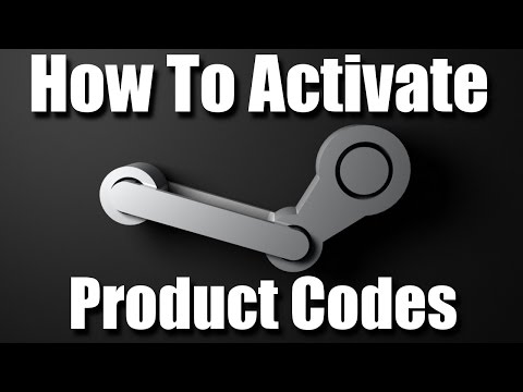 How to activate product codes on steam: activate steam games on pc