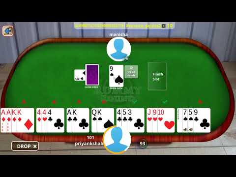 How to play rummy card 21 game