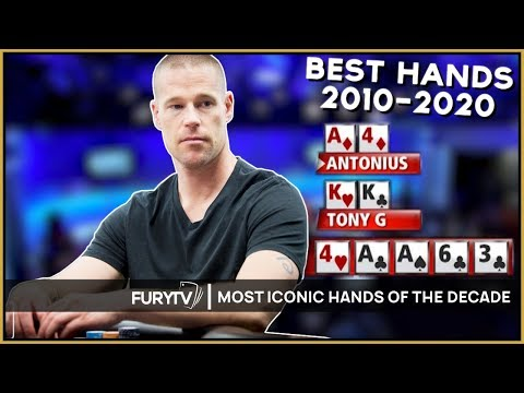 Top 10 most iconic poker hands of the decade!