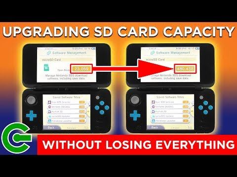 Upgrading nintendo 3ds sd card without losing everything