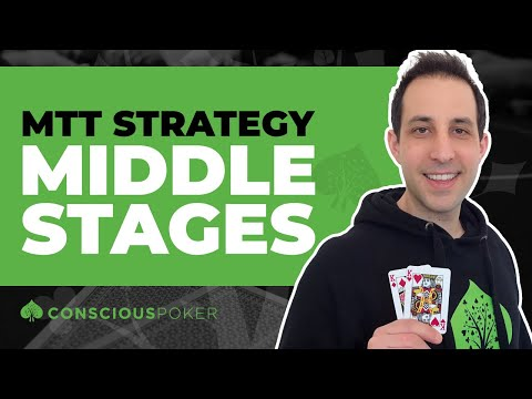 How to win online poker tournaments | online poker tournaments strategy mid stages