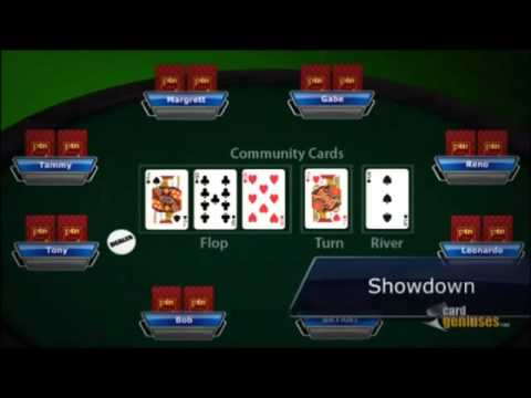 Learn how to play poker texas holdem   free poker training videos