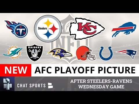 Afc playoff picture: nfl clinching scenarios, wild card race & standings entering week 13 of 2020