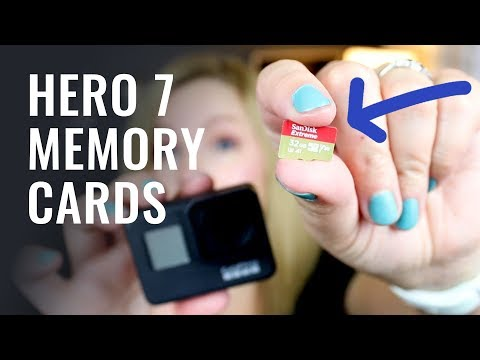 Gopro hero 7 memory cards (which sd cards are best?)