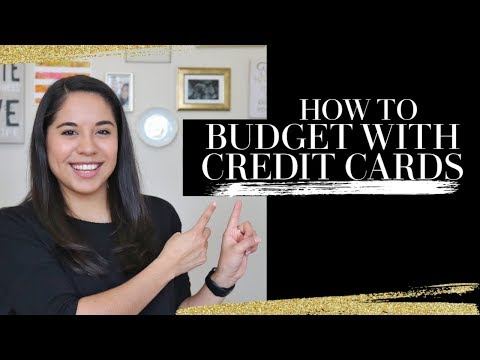 Get started budgeting with credit cards!