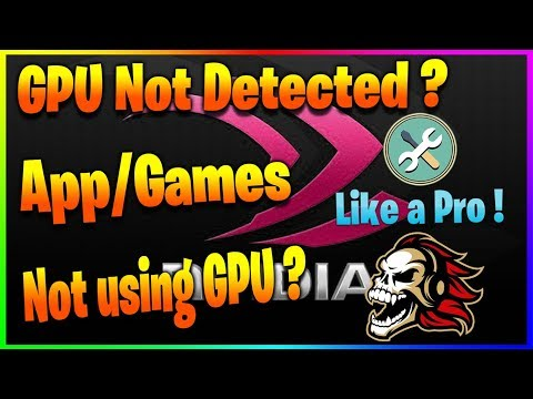 [solved] apps n games not detecting gpu || quickfix tutorial
