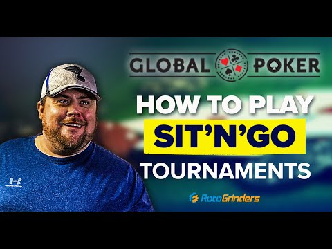 How to play online poker - sit'n'go tournaments
