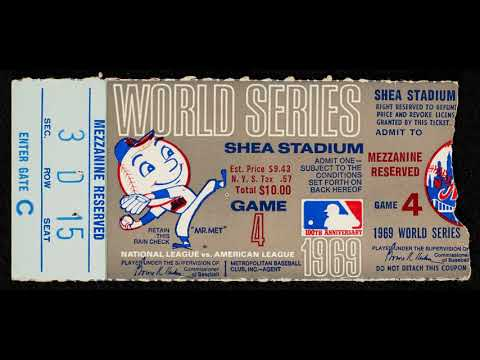 1969 world series: game 4: orioles at mets