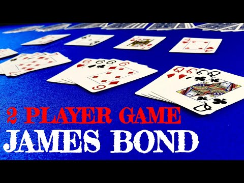 How to play james bond - card games for 2 players