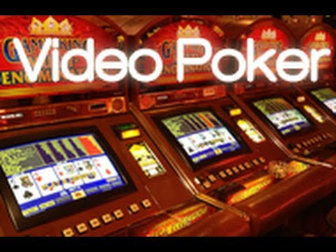 Learn video poker - history tour