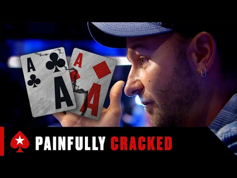 When poker players get aces cracked ♠️ pokerstars