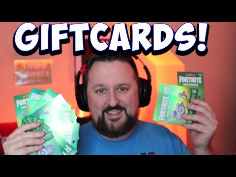 How to redeem fortnite gift card - giveaway