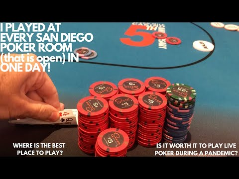 Where is the best place in san diego to play poker during a global pandemic???