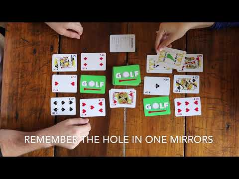 How to play the card game golf - dynasty toys