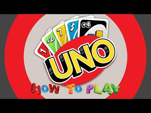 How to play uno : rules of uno game : uno
