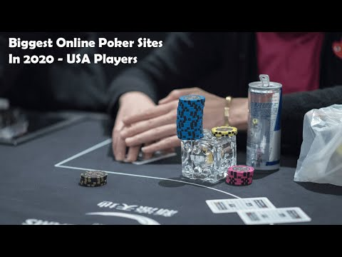 Biggest online poker sites in 2021 - usa players 🃏