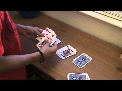 Card games-how to play: speed