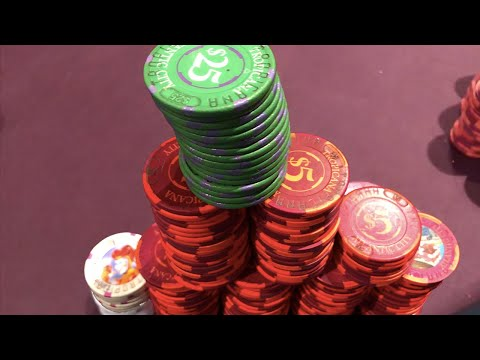 Huge fish goes on incredible heater playing every hand!!!