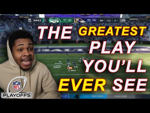 This is the craziest game of madden ive ever played in my life!! to go to the afc championship | cfm