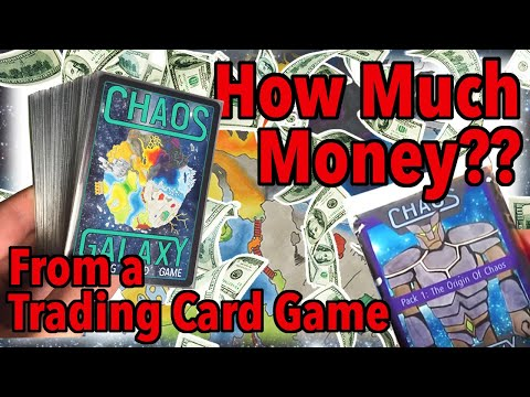 How much money can you make from a trading card game?