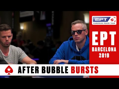 Day 3 (part 1) ♠️ ept barcelona 2019 - main event (cards-up!) ♠️ pokerstars