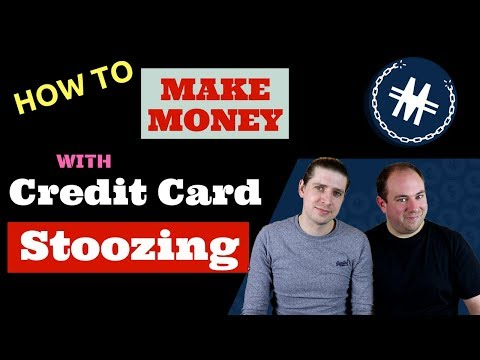 How to make money with credit card stoozing