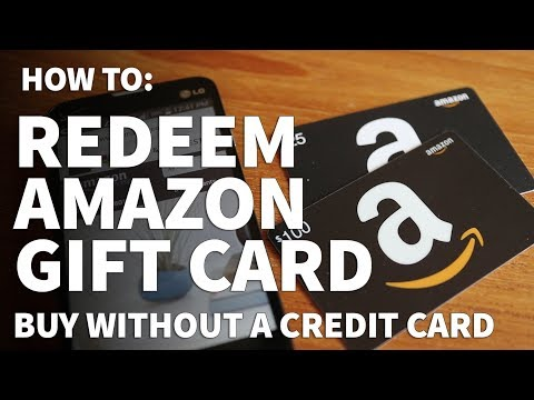 How to redeen an amazon gift card – add gift card money buy on amazon without credit card
