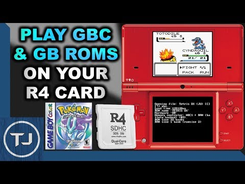 Play gameboy & gameboy color games on r4 card!