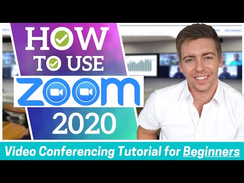 How to use zoom | video conferencing tutorial for beginners