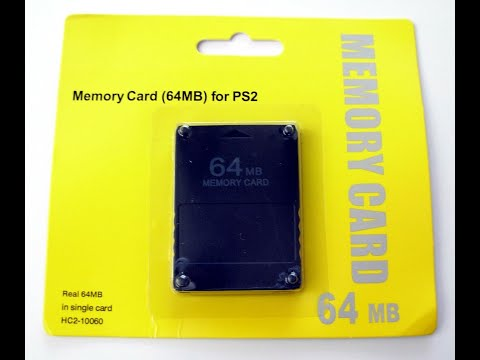 Cleaning up playstation 2 memory cards