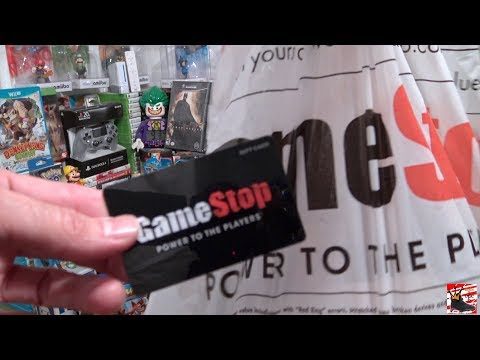 What i bought at gamestop with $100 giftcard!