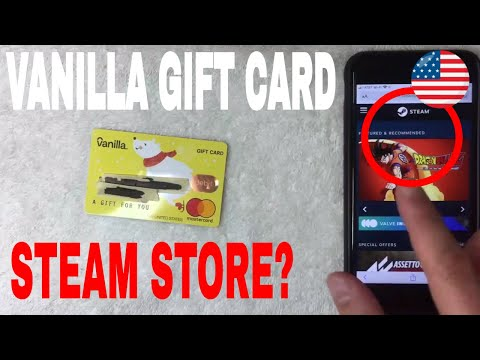 ✅ can you use vanilla mastercard gift card on steam games 🔴