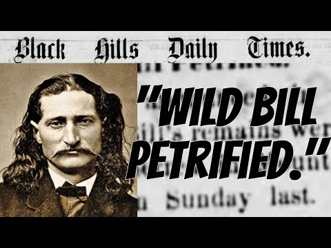 """""""wild bill"""" hickok turned into a """"fossil""""!!!"""