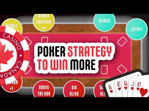 Poker strategies: play less hands, win more!