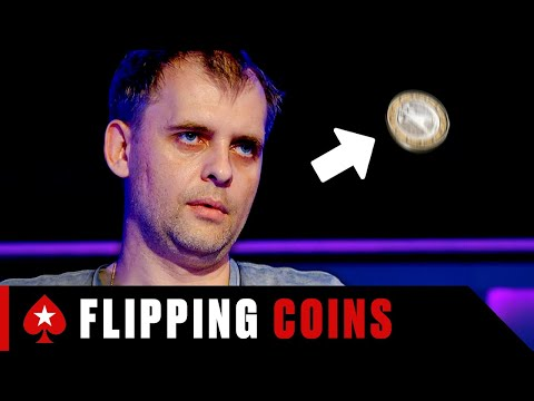 Russian guy flips a coin every tough poker decision ♠️ pokerstars