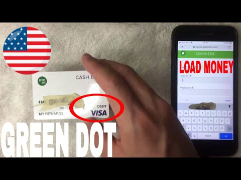 ✅ how to load cash money on green dot prepaid debit card 🔴