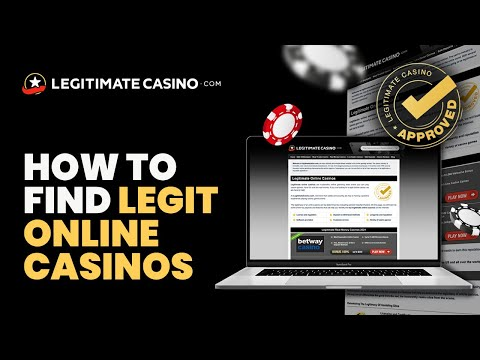 What is the most legit online casino? we're your best source!