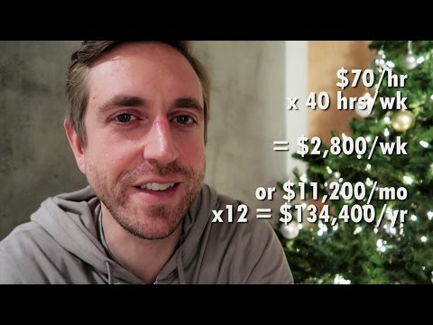 Expected income in live poker