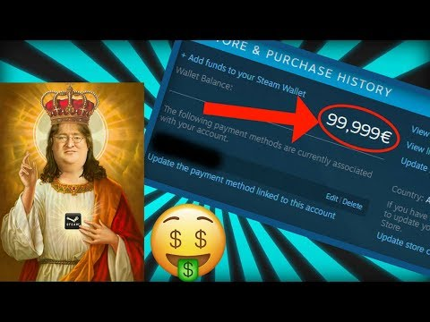 The easiest way to buy games on steam without spending real cash!