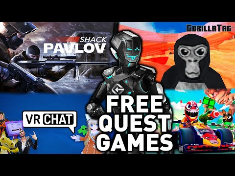 The best free oculus quest 2 games (app lab and oculus store) - side quest not needed