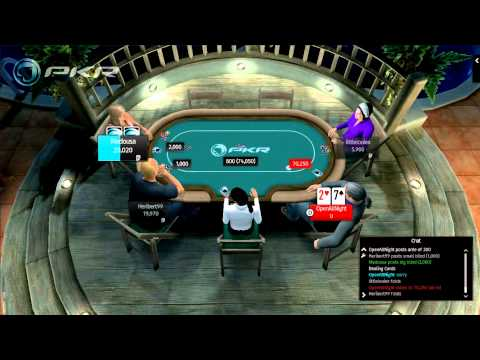 The worst hand in poker - 72o - a kick in the nuts - openallnight pkr poker
