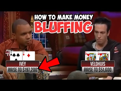 How to bluff in poker - start making money off your bluffs