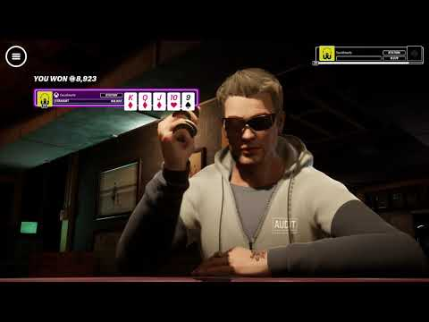 Poker club gameplay - fast aggressive cash game dominance & double bust!!