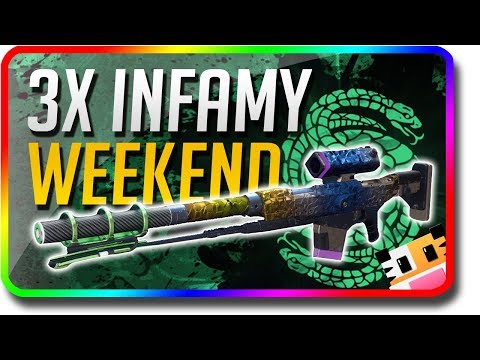 Destiny 2 - 3x infamy weekend and refer a friend prizes (destiny 2 this week at bungie oct 25)