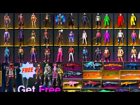 How to get free bundles in free fire!!ff big glitch!!free fire gun skin glitch!! ff big dress glitch