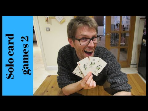 Solo card games 2