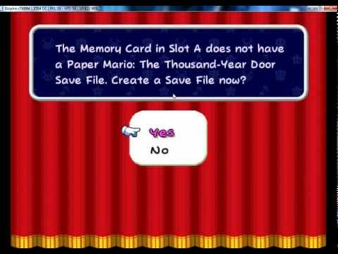 How to save with dolphin emulator (gamecube only)