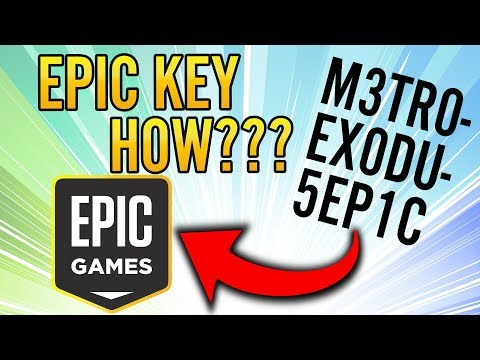How to redeem code on epic games store - unlock a game key